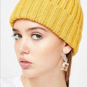 Jewelry - NEW! RESIN GOLDFISH BAG NOVELTY SET OF EARRINGS
